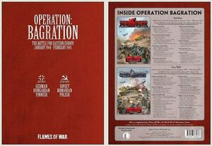 FOW OPERATION BAGRATION (2 BOOKS)