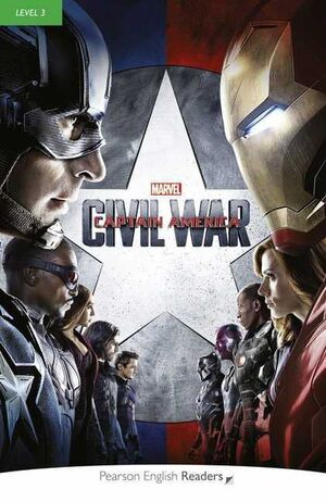 CAPITAN AMERICA CIVIL WAR PACK BOOK & MP3 MARVEL (LEVEL 3)