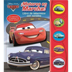 CARS MOTORES EN MARCHA! LIBRO DE LABERINTOS CON SONIDOS