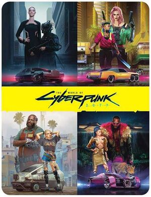 THE WORLD OF CYBERPUNK 2077 HC (INGLES)