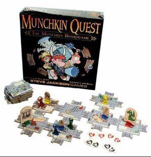 MUNCHKIN QUEST (INGLES)