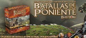 BATALLAS DE PONIENTE