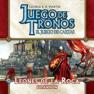 JUEGO DE TRONOS LCG. LEONES DE LA ROCA