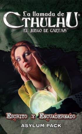 LA LLAMADA DE CTHULHU LCG - SERIE 7 PACK 1 ESCRITO Y ENCUADERNADO