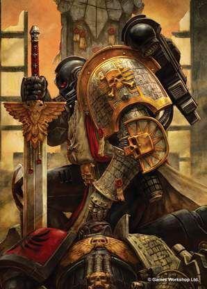 FUNDAS CARTAS PROTECTORAS ILUSTRADAS WARHAMMER - FOR THE EMPEROR