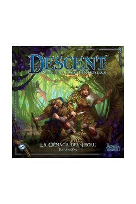 DESCENT SEGUNDA ED. : LA CIENAGA DEL TROLL