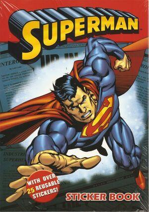 LIBRO DE PEGATINAS - SUPERMAN