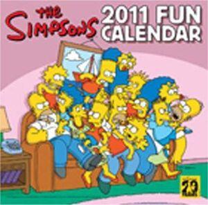 CALENDARIO 2011 SIMPSONS