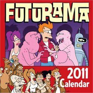 CALENDARIO 2011 FUTURAMA