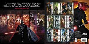 CALENDARIO 2012 STAR WARS
