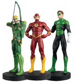 DC COMICS: SUPER HERO COLLECTION - FLASH, GREEN ARROW Y GREEN LANTERN