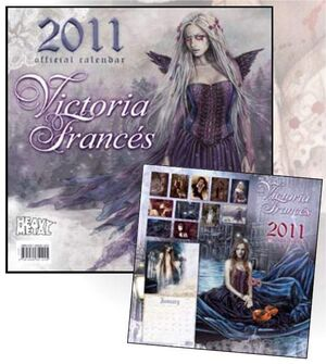 CALENDARIO 2011 VICTORIA FRANCES
