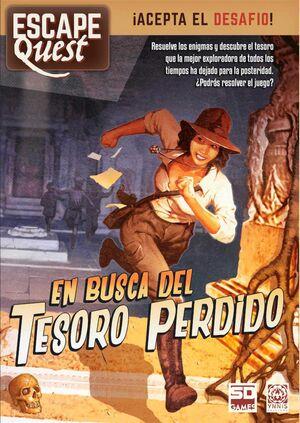 ESCAPE QUEST: EN BUSCA DEL TESORO PERDIDO. ACEPTA EL DESAFIO!