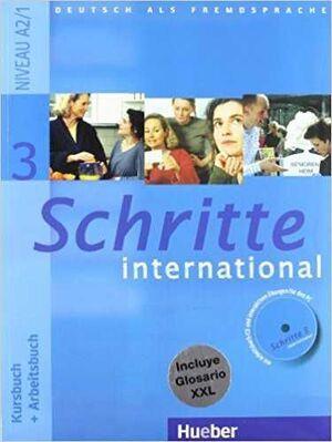 SCHRITTE INTERNATIONAL 3: KURSBUCH + ARBEITSBUCH (NIVEAU A2/1)