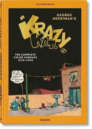 GEORGE HERRIMAN'S KRAZY KAT. THE COMPLETE COLOR SUNDAYS 1935-1944