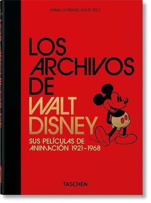 LOS ARCHIVOS DE WALT DISNEY SUS PELICULAS DE ANIMACION 1921-1968