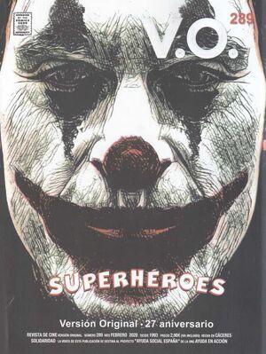 VERSION ORIGINAL. REVISTA DE CINE #289. 27 ANIVERSARIO: SUPERHEROES