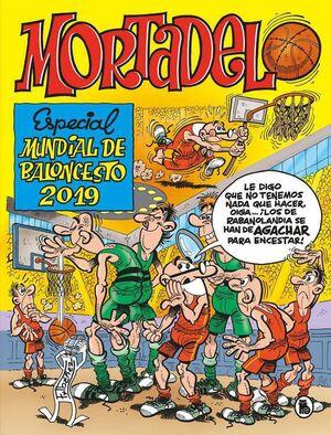 MORTADELO Y FILEMON ESPECIAL MUNDIAL BALONCESTO 2019