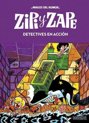 MAGOS DEL HUMOR: ZIPI Y ZAPE #016. DETECTIVES EN ACCION
