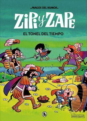 MAGOS DEL HUMOR: ZIPI Y ZAPE #014. EL TONEL DEL TIEMPO