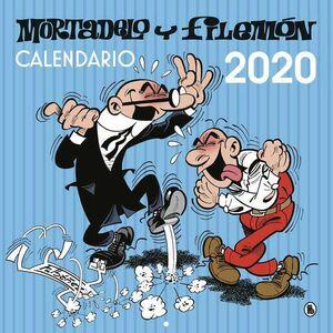 CALENDARIO PARED 2020 MORTADELO Y FILEMON