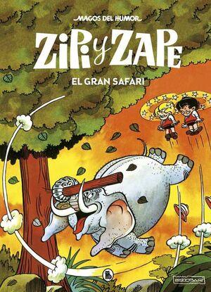 MAGOS DEL HUMOR: ZIPI Y ZAPE #018. EL GRAN SAFARI