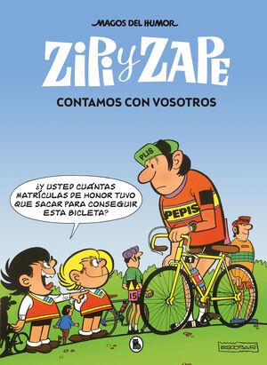 MAGOS DEL HUMOR: ZIPI Y ZAPE #209 CONTAMOS CON VOSOTROS