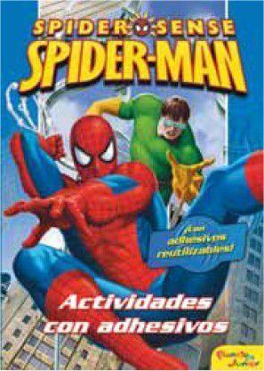 SPIDERMAN. ACTIVIDADES CON ADHESIVOS