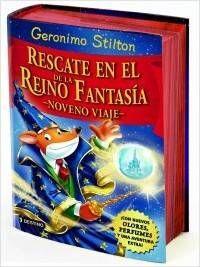 GERONIMO STILTON: RESCATE EN EL REINO DE LA FANTASIA. NOVENO VIAJE