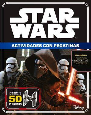 STAR WARS EL DESPERTAR DE LA FUERZA ACTIVIDADES CON PEGATINAS