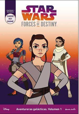 STAR WARS: FORCES OF DESTINY. AVENTURERAS GALACTICAS #01