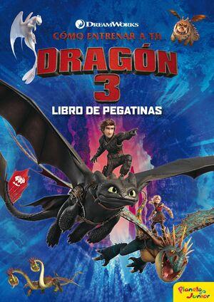 COMO ENTRENAR A TU DRAGON 3. LIBRO DE PEGATINAS