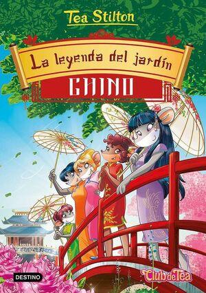 TEA STILTON 34: LA LEYENDA DEL JARDIN CHINO