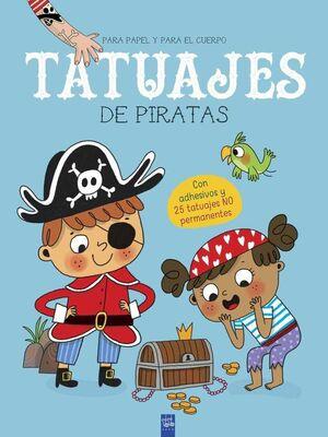 TATUAJES DE PIRATAS. PARA PAPEL Y PARA EL CUERPO