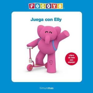 JUEGA CON ELLY. LIBRO DE TELA CON ESPEJO!