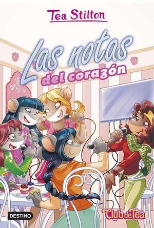 TEA STILTON. CLUB DE TEA: LAS NOTAS DEL CORAZON