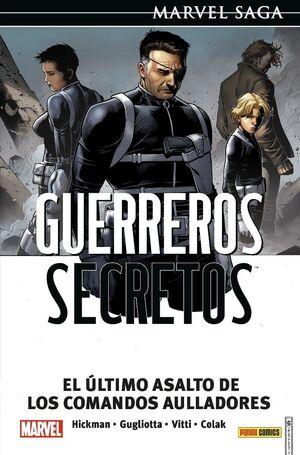 MARVEL SAGA #124. GUERREROS SECRETOS #04. EL ÚLTIMO ASALTO DE LOS COMANDOS AULLADORES