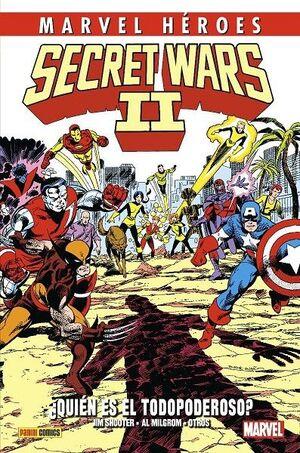 MARVEL HEROES #107. SECRET WARS II ¿QUIÉN ES EL TODOPODEROSO?