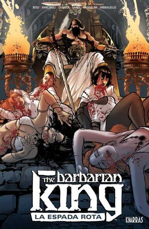THE BARBARIAN KING I: LA ESPADA ROTA