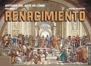 DESPERTA FERRO HISTORIA DEL ARTE EN COMIC #03. EL RENACIMIENTO