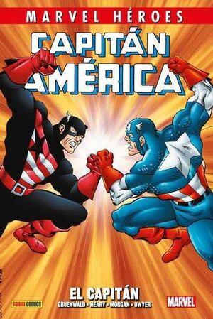 MARVEL HEROES #096: CAPITAN AMERICA DE MARK GRUNDEWALD 02. EL CAPITAN