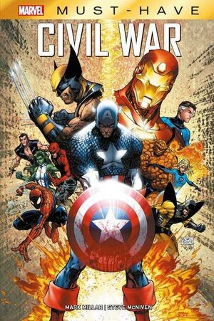 MARVEL MUST-HAVE #01. CIVIL WAR
