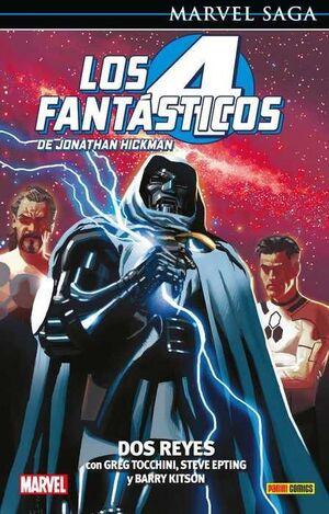 MARVEL SAGA #102. LOS 4 FANTASTICOS DE J.HICKMAN 05: DOS REYES