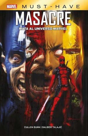 MARVEL MUST-HAVE #05. MASACRE MATA EL UNIVERSO MARVEL