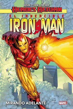 EL INVENCIBLE MAN #01. MIRANDO ADELANTE (HEROES RETURN)
