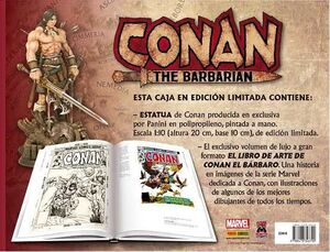 CONAN THE BARBARIAN CAJA EDICION LIMITADA