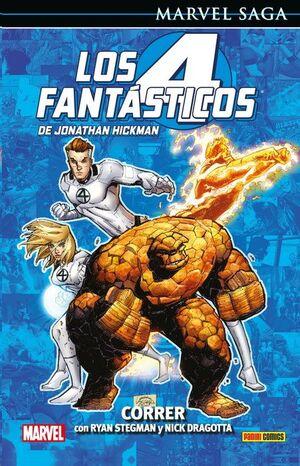 MARVEL SAGA #111. LOS 4 FANTASTICOS DE JONATHAN HICKMAN 9. CORRER