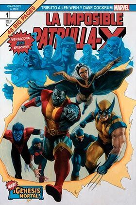 GIANT SIZE X-MEN: TRIBUTO A LEN WEIN Y DAVE COCKRUM. GENESIS MORTAL!