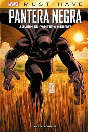 MARVEL MUST-HAVE #19. PANTERA NEGRA: QUIEN ES PANTERA NEGRA?