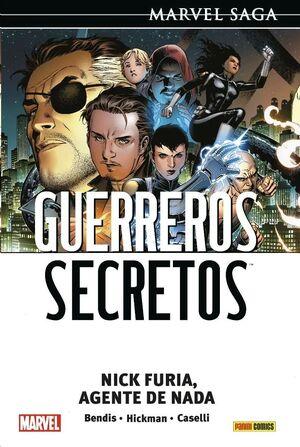 MARVEL SAGA #118. GUERREROS SECRETOS 01: NICK FURIA, AGENTE DE NADA